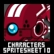 Characters Spritesheet 10  - GraphicRiver Item for Sale
