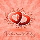 Happy Valentine's Day Floral Card - GraphicRiver Item for Sale