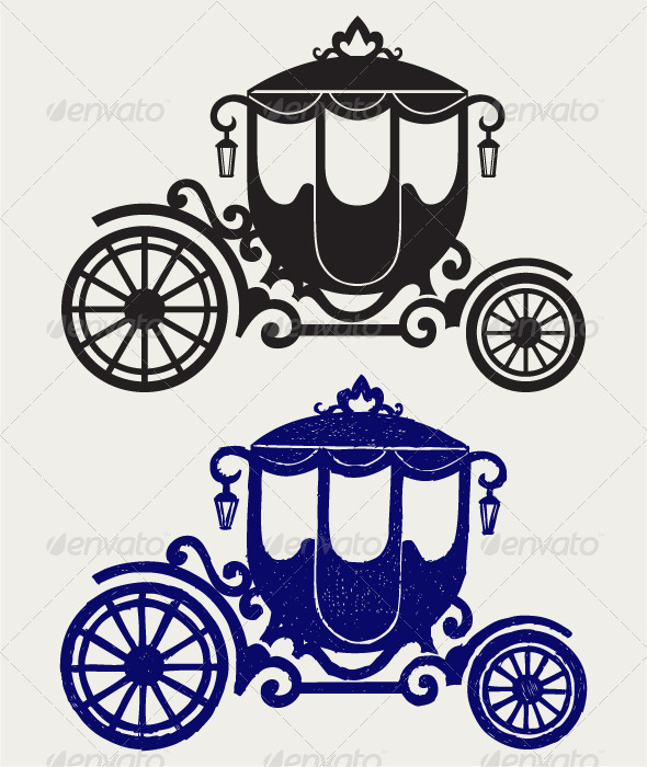 GraphicRiver Vintage Carriage 6680759