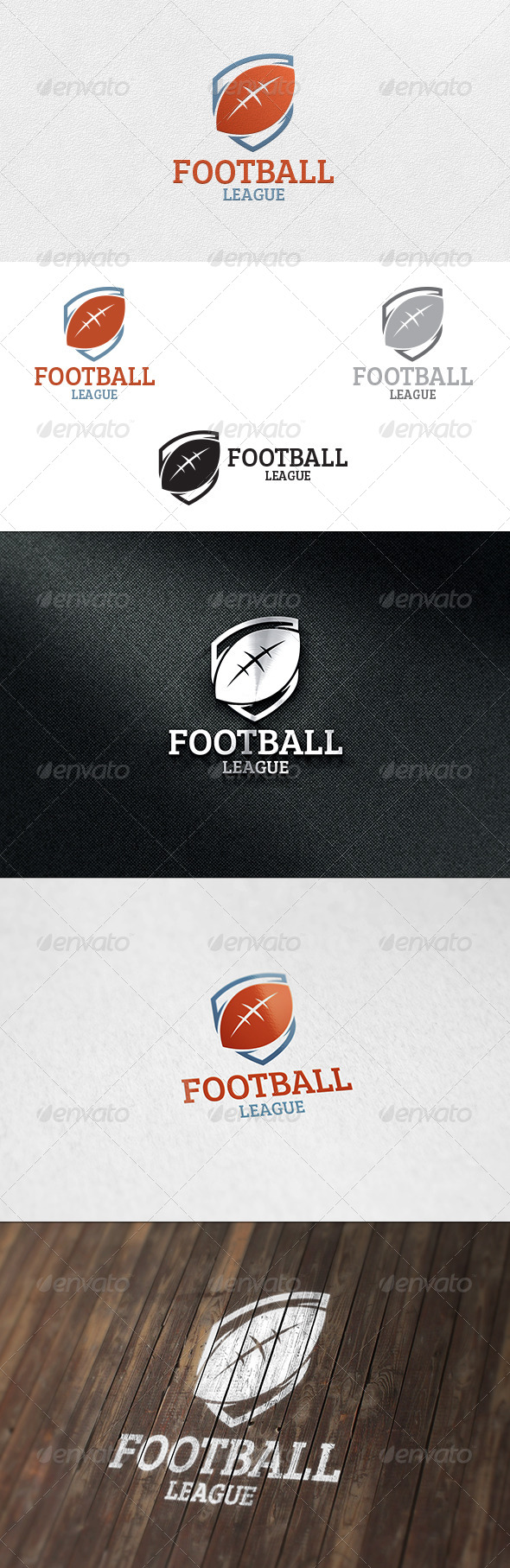 GraphicRiver Football Logo Template 6680760