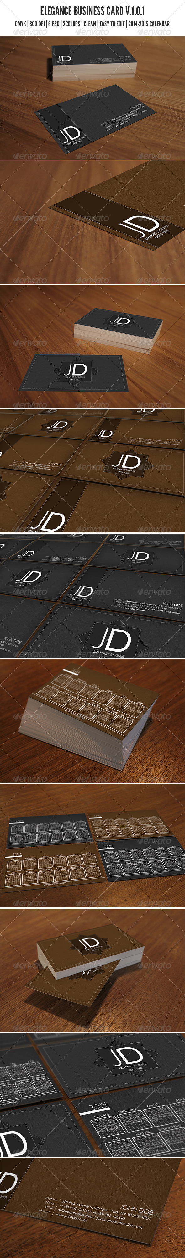 GraphicRiver Elegance Business Card 6680949