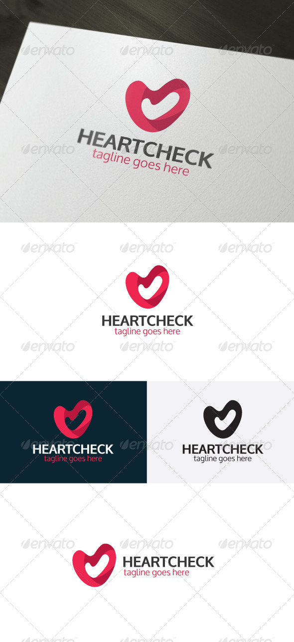GraphicRiver Heart Check Logo 6681186