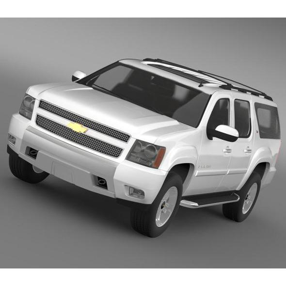 3DOcean Chevrolet Suburban Z71 6681426