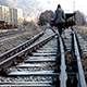 Walking on the Railway - VideoHive Item for Sale