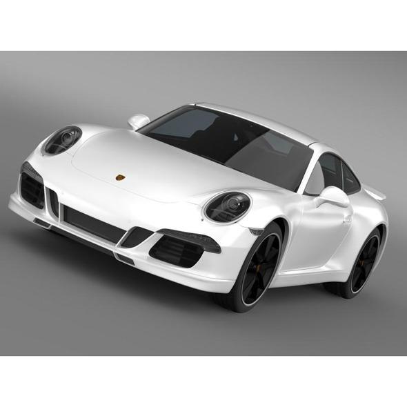 3DOcean Porsche 911 4s Exclusive 6681890