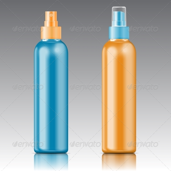 GraphicRiver Colored Sprayer Bottle Template 6682670