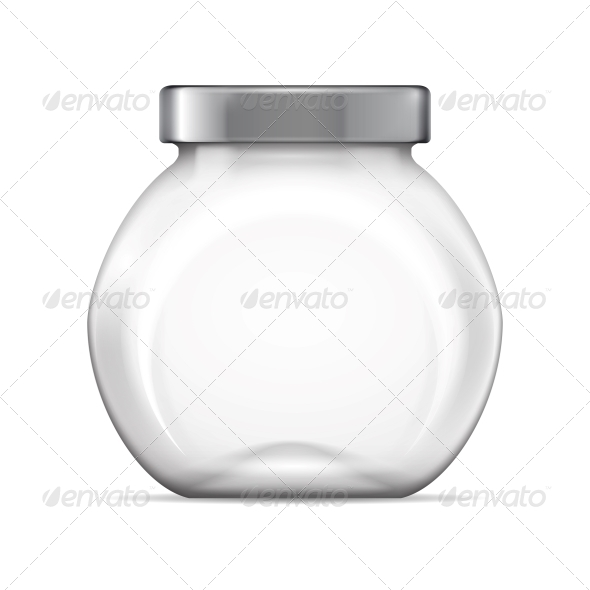 GraphicRiver Empty Glass Jar 6682690