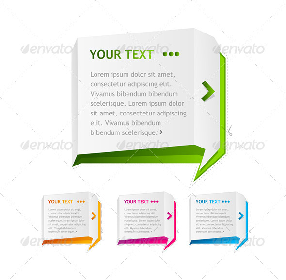 GraphicRiver PaperSpeech Templates Set 6683624