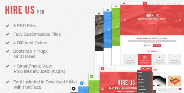 Hire Us - Multi-Purpose Landing Page - Business Corporate