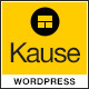 Kause - Multi Purpose WordPress Theme - ThemeForest Item for Sale