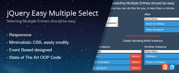 CodeCanyon jQuery Easy Multiple Select 6685429
