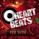 Heart Beats Valentines Party Flyer - GraphicRiver Item for Sale