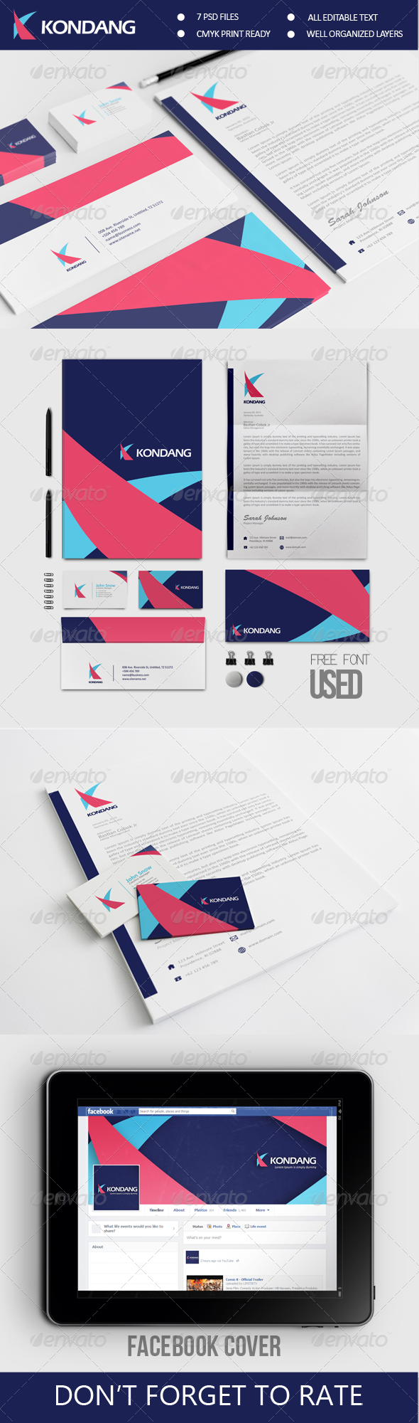 GraphicRiver Kondang Corporate Identity 6685864