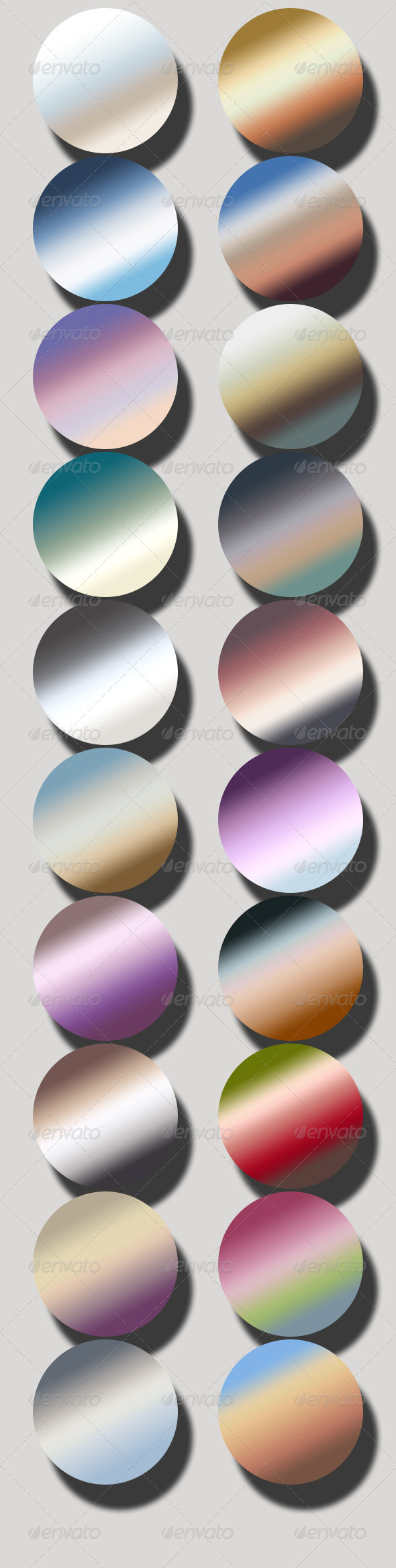 GraphicRiver Pastel Gradients 6687041