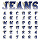 Jeans Font - GraphicRiver Item for Sale