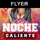 Noche Caliente | Flyer Template - GraphicRiver Item for Sale