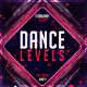 Dance Levels Flyer Template - GraphicRiver Item for Sale