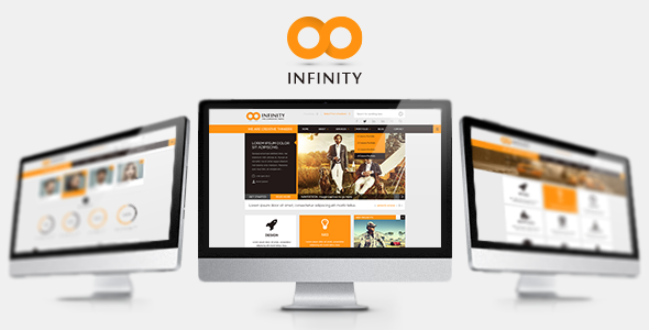 INFINITY  |  Responsive HTML5 Template - Corporate Site Templates