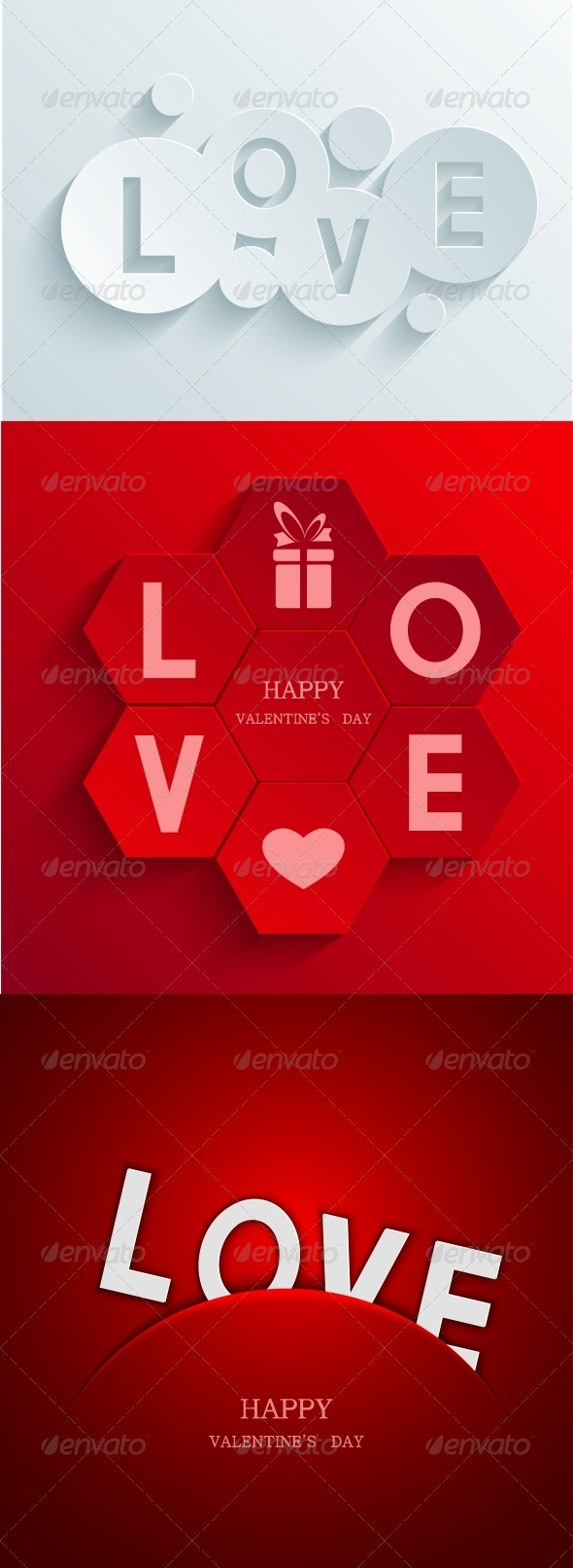 GraphicRiver Valentines Day Background 6695791