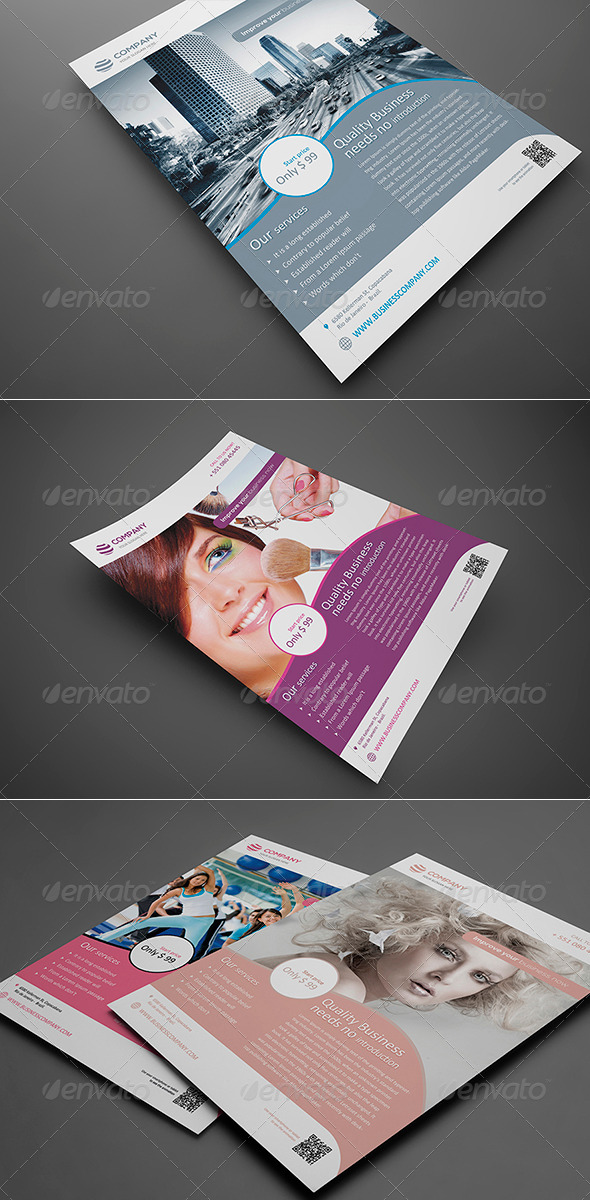 Multipurpose Corporate Flyer Vol 1 - Corporate Flyers
