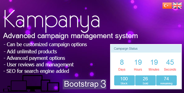 CodeCanyon Kampanya Advanced Campaigns Shopping System 6647894