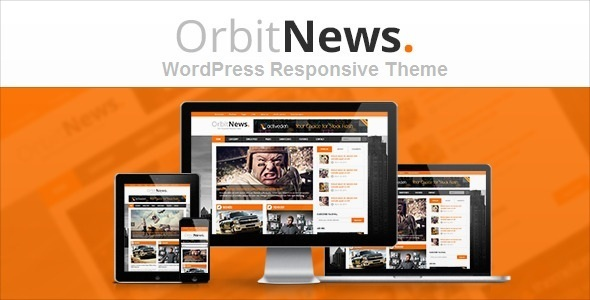 Orbit News - WordPress Responsive Magazine Theme - News / Editorial Blog / Magazine