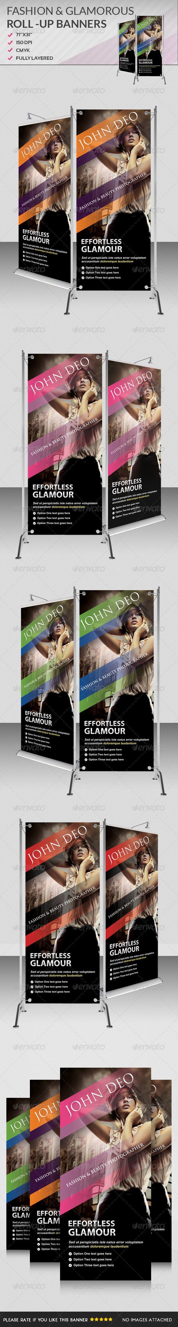 GraphicRiver Multiporpose Glamorous Roll Up Banners II 5172689