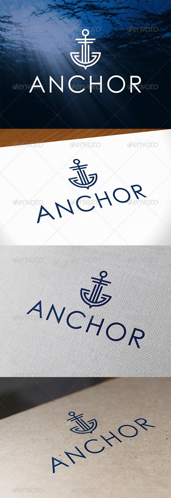 GraphicRiver Anchor Logo Template 6701291
