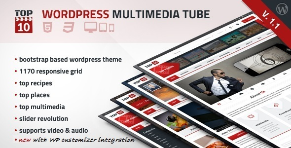 TOP10 - Wordpress Multimedia Tube - Miscellaneous WordPress