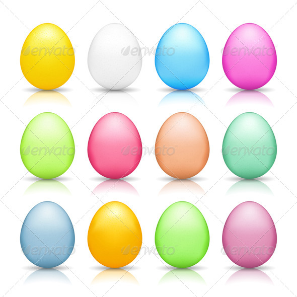 GraphicRiver Easter Eggs 6702120
