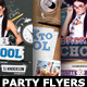 Back To School Party Flyer Bundle 3in1 - GraphicRiver Item for Sale