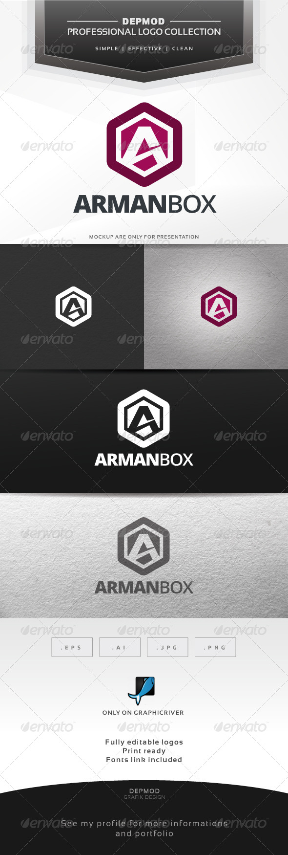 GraphicRiver Arman Box Logo 6702827