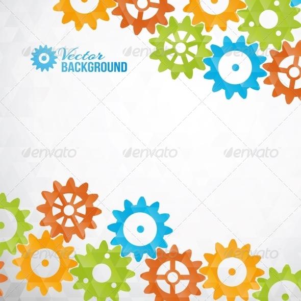 GraphicRiver Cog Wheels 6703105