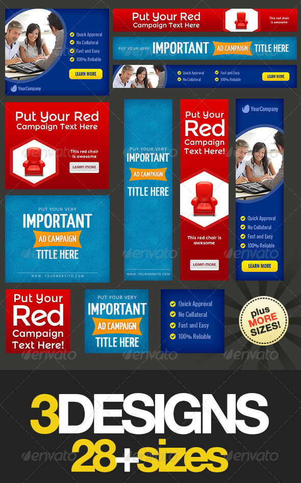 GraphicRiver Multipurpose Web Banner Design Bundle 4 6703224