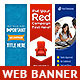 Multipurpose Web Banner Design Bundle 4 - GraphicRiver Item for Sale