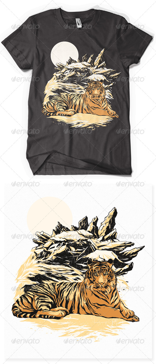 GraphicRiver Bengal Tiger 6703518