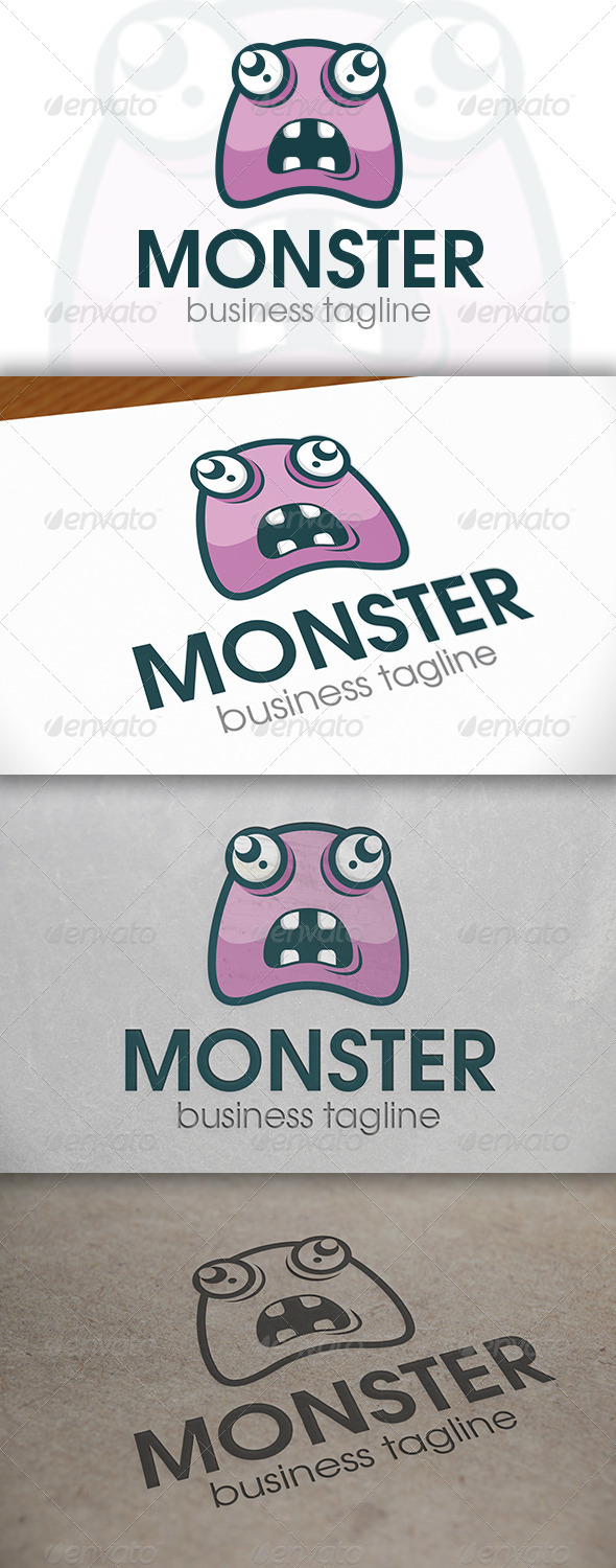 GraphicRiver Monster Logo 6703608