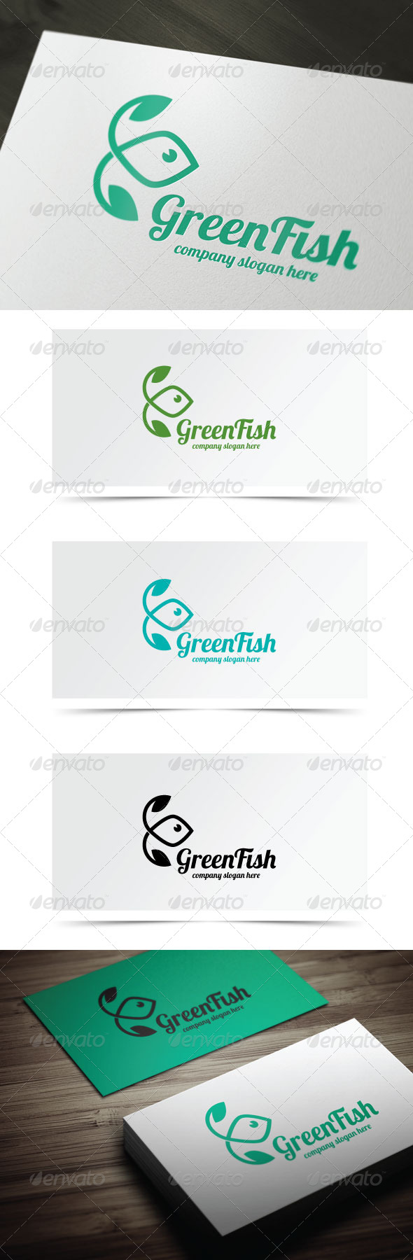 GraphicRiver Green Fish 6704845