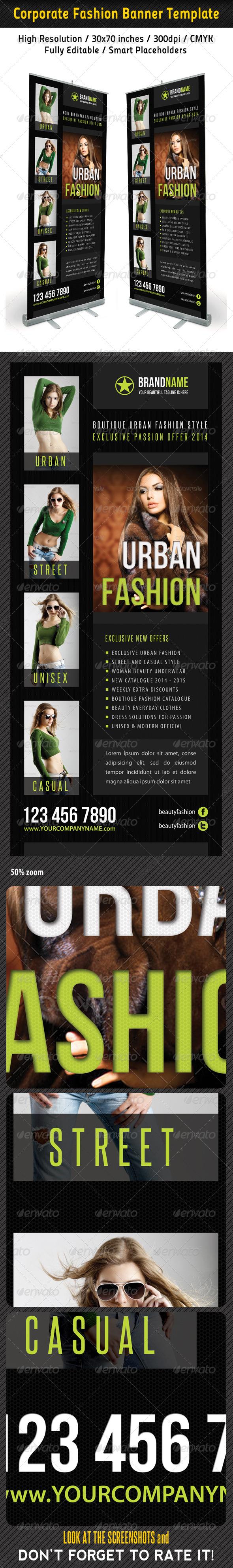 GraphicRiver Fashion Multipurpose Banner Template 30 6705720