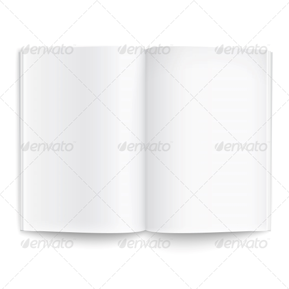 GraphicRiver Blank Magazine Template 6706770