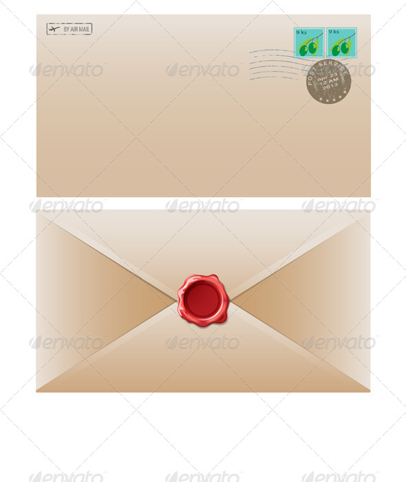 GraphicRiver Mail Envelope 6708400