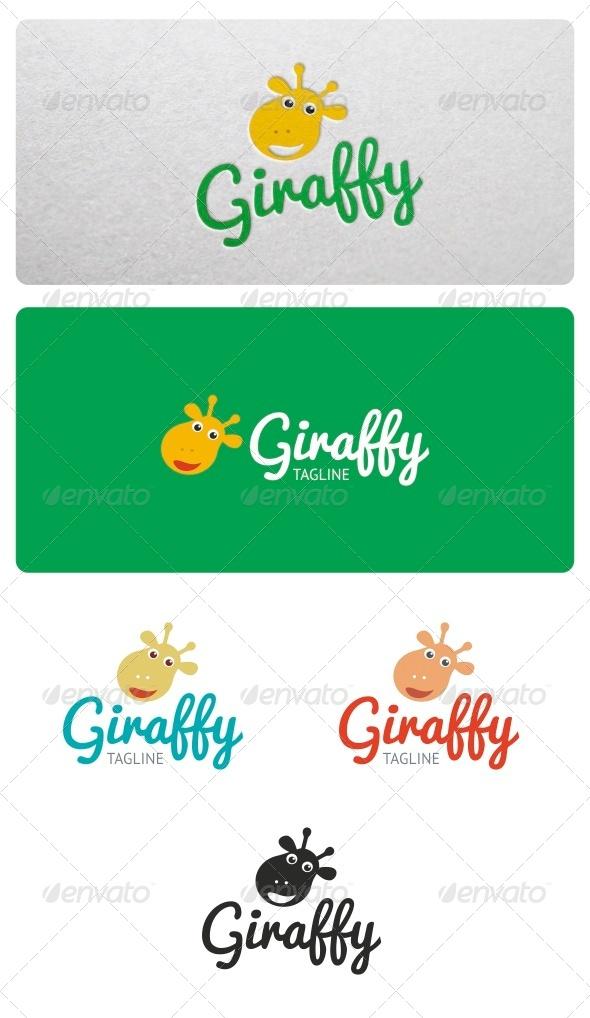 GraphicRiver Giraffy Logo 6710255