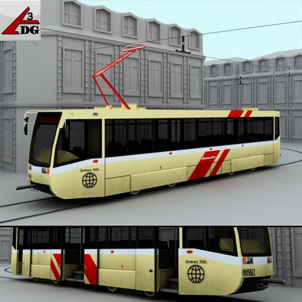 3DOcean Streetcar 6692116