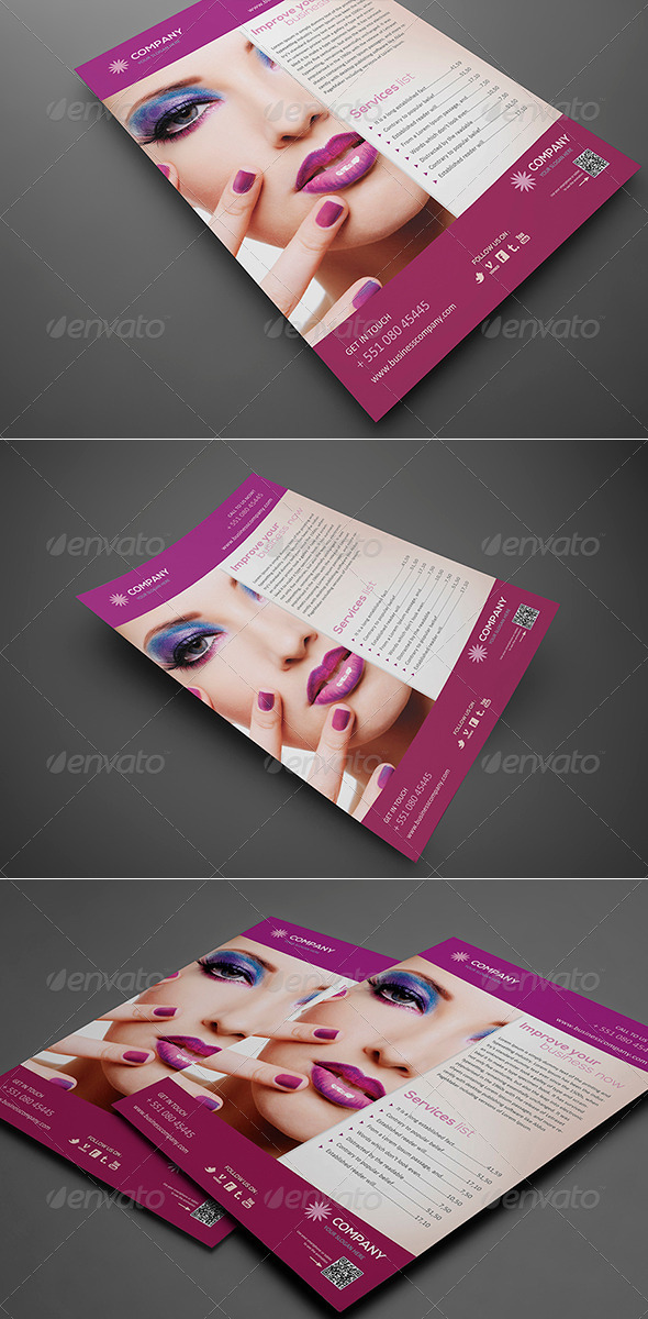 Beauty Flyer Vol 1 - Corporate Flyers
