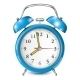 Blue Alarm Clock - GraphicRiver Item for Sale