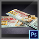 Best DJ Event Ticket Template - GraphicRiver Item for Sale
