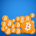 Background of financial currency Bitcoin - PhotoDune Item for Sale