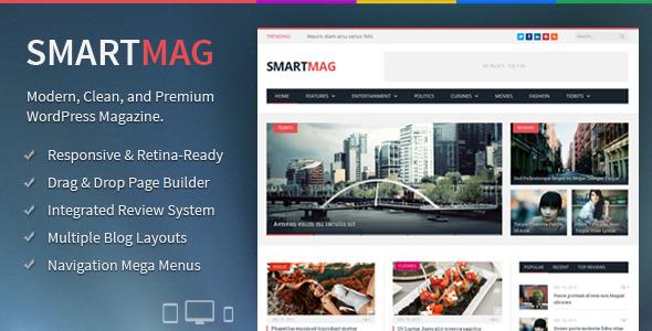ThemeForest SmartMag Responsive & Retina WordPress Magazine 6652608