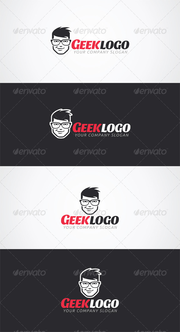 GraphicRiver Geek Logo Template 6716988