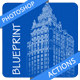 Blueprint Photoshop Actions - GraphicRiver Item for Sale